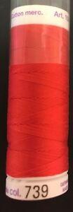 METTLER 50W SILK FINISH-164YD/SPOOL- MANY CHOICES