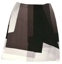 FENDI Brown Skirt Silk Size Medium UK 10 to 12 EU 40 Ladies Womens £860