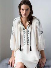Zara Viscose 3/4 Sleeve Casual Dresses for Women