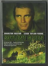 Soylent Green classic Charlton Heston sci-fi movie DVD virtually new condition!!