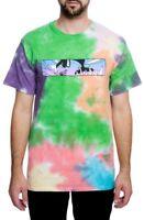Pink Dolphin Letterbox T-Shirt Tie Dye Multi Tee Fall 18 Mens Streetwear Top NWT