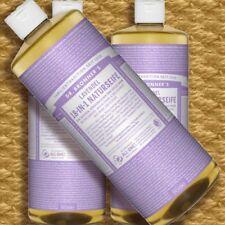 DR Bronner'S MAGIC SOAP LAVANDA 945ml sapone liquido Naturkosmetik vegan bio Fair