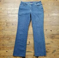 Not Your Daughters Jeans NYDJ Lift Tuck Women Size 12 Straight Leg Jeans 33 x 30