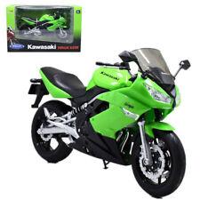 Welly 1 10 Kawasaki Kx250f Motorcycle Model Bike Toy Green