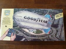 Qualatex GoodYear Blimp. Remote Radio Control Toy Blimp. 1987. Never Used!