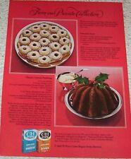 1979 print ad page -C & H Hawaii Sugar Coconut Joy cookies-Carrot pudding recipe