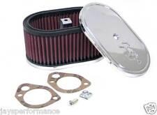 K&N Filtro Aria Personalizzato Kit Per Singolo & Doppio Barile Carbs 56-1320