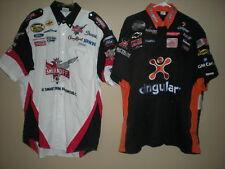 NASCAR RACE USED PIT CREW SHIRTS