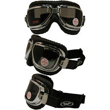 Retro Classic SMOKE Old School Bomber Goggles Motorcycle Goggles