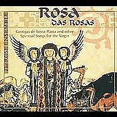 ROSA DAS ROSAS: CANTIGAS DE SANTA MARIA AND OTHER SPIRITUAL SONGS CD (2000) -NEW