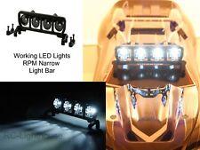 RPM Light Bar Narrow with 4 LED's 80782, Recon G6 Rock Black