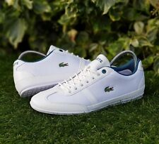 BNWB & Authentic Lacoste ® Misano SP Sport White Trainers UK Size 6 - EU 39.5