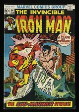 Iron Man #54 VG/FN 5.0 Marvel Comics 1st Moondragon!