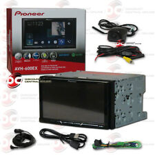 "PIONEER AVH-600EX 7"" TOUCHSCREEN DVD BLUETOOTH STEREO W/ KEYHOLE BACK-UP CAMERA"