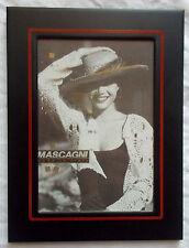 CORNICE PORTAFOTO MASCAGNI - PICTURE FRAME - FOTOS MARCO/ COLOR NERO - 10X15