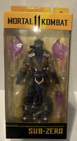 "Sub Zero (Mortal Kombat) Winter Purple Variant McFarlane 7"" Action Figure"