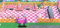 Outdoor Pink Diner Set (32 items ) - Furniture - Animal Crossing New Horizons