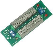 Stromverteiler SV 24+2 FDK LED, Verteiler Federklemmen, Schnellanschlußklemmen