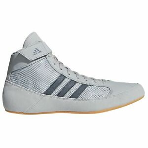 Kids Boxing Boots Wrestling Shoes Adidas Havoc Trainers Childrens Grey