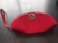 Georgio Armani Make Up Bag Red