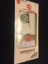 Zero Friction Performance Glove (Ladies~Left~White) Universal Fit*One Size