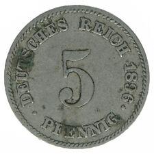 Deutsches Reich, 5 Pfennig 1896 E, A26332