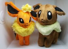 EEVEE and FLAREON Pokemon Plush FAST SHIPPING from USA