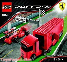 Lego RACERS 8153 Ferrari F1 Truck 1:55  Brand New Never opened