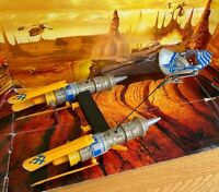 STAR WARS VEHICLE 2012 MOVIE HEROES COLLECTION ANAKIN SKYWALKER'S PODRACER