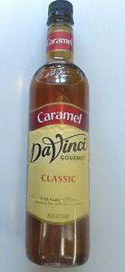DaVinci Gourmet Classic Carmel Syrup 750 ml New & Unopened