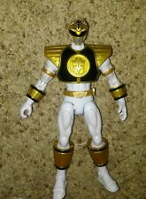 Power Rangers Megaforce Armored (2013) Bandai White Ranger Action Figure