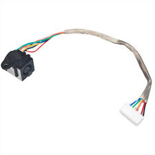 DC POWER JACK HARNESS PLUG IN CABLE FOR DELL PP33L PP39L