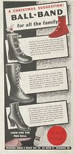 1940 AD.(XG19)~MISHAWAKA RUBBER WOOLEN CO. MISHAWAKA, IN. BALL-BAND FOOTWEAR