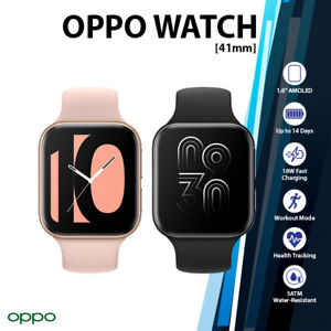 """(Wi-Fi) OPPO Watch 41mm 1.6"""" AMOLED Black Pink Gold GPS 3ATM Android Smartwatch"""