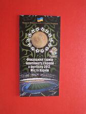 1 Griwna 2012 Ukraine Fußball EM / Eingeschweißt Unzirkuliert