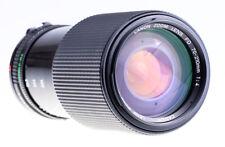 Canon FD 70-210 mm F 4 Con Controluce Mascherina sn:216363 Top condizione esaminata