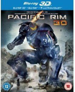 Pacific Rim [Blu-ray 3D + Blu-ray] [2013] [Region Free] [DVD][Region 2]
