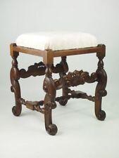 Walnut Victorian Antique Stools
