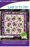 Leaf It To Me Quilt Pattern by Cozy Quilt Designs