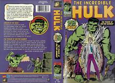Incredible Hulk: Origin of The Hulk /  Power of Doctor Banner VHS 1998 Saban