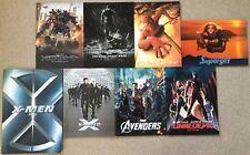 MOVIE PROGRAM JAPAN BOOK 8 set lot Avengers Spider-Man Transformers Marvel FS