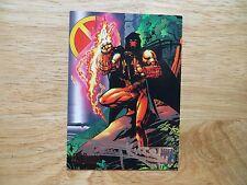 1995 DC VS MARVEL AZRAEL CARD # 16 SIGNED BARRY KITSON ART, WITH POA