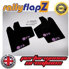 Rally Mudflaps MG ZS Rover Mud Flaps rallyflapZ Black Logo Baby Pink 3mm PVC