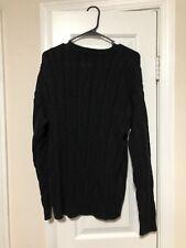 Mens large Ralph Lauren Black Sweater