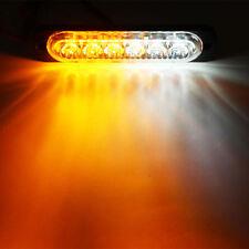 6 LED Car Truck Emergency Strobe Grill Flashing Lamp Beacon Warning 12/24V Light