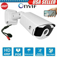 4MP IP Camera ONVIF P2P Outdoor Home IR Cut CCTV Security Network Night Vision