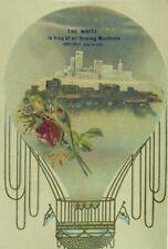 1888 Expo 1889 Paris Expo. The White Sewing Machine Hot Air Balloon P104