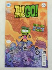 2013 TEEN TITANS GO! # 19 Comic ~CARTOON NETWORK Beast Boy LAST BOY ON EARTH