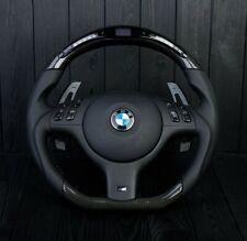 BMW OEM Genuine Leather LED Custom E39 M5 E46 M3 SMG carbon steering wheel