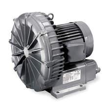 "FUJI ELECTRIC Regenerative Blower; Inlet Size: 1-1/4"" (F)NPT, Outlet Size: 1-1/4"
